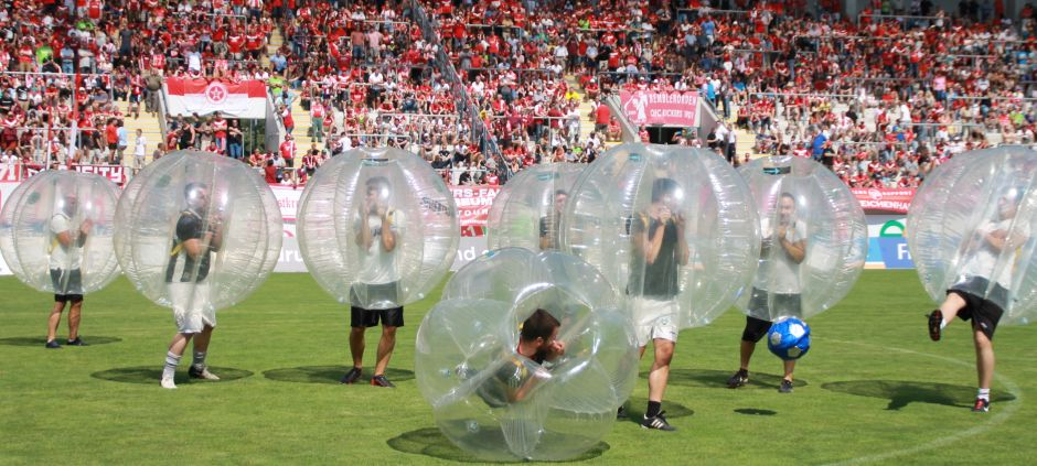 Bubble Football in Offenbach